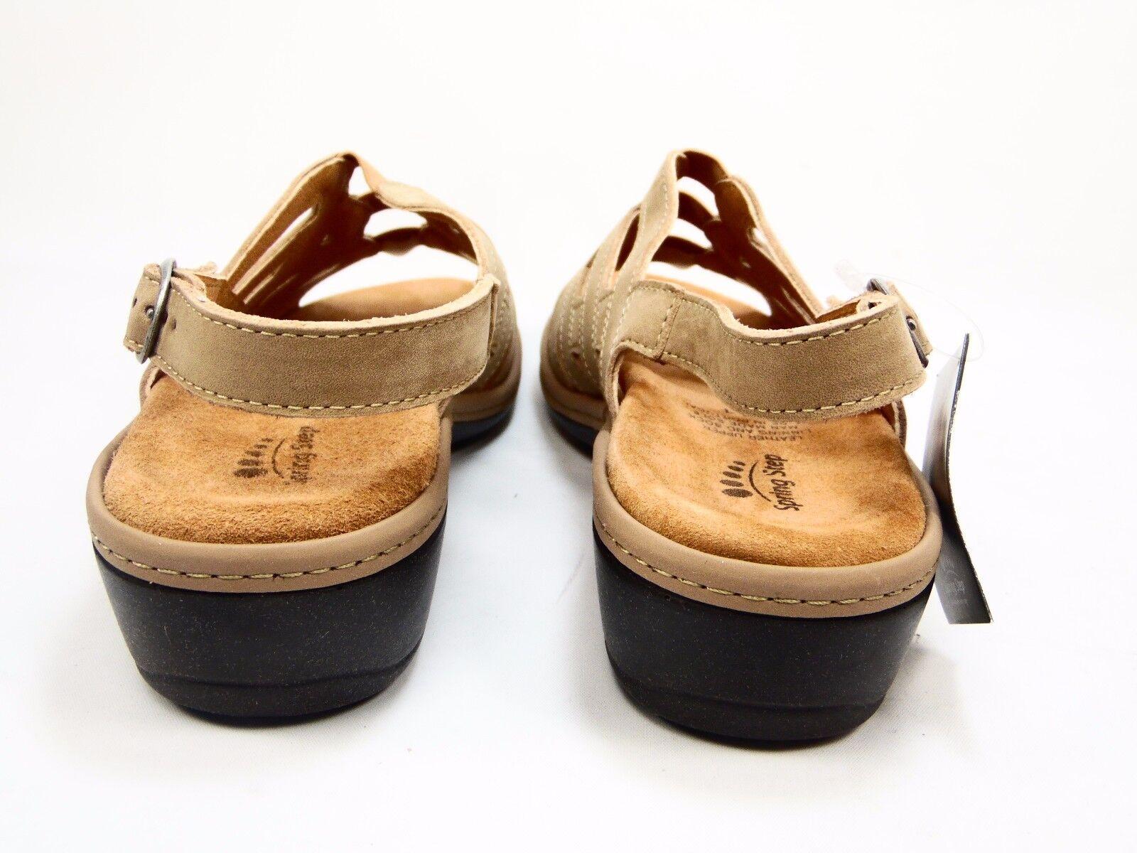 Spring Step Kaylana Kaylana Kaylana Slingback Sandals Tan Nubuck Dimensione 41(US 9.5-10) 780e60