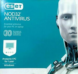 ESET NOD32 Antivirus 2021 Edition 1-Device / 1-Year Global ...