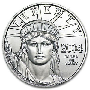 1/2 OZ Platin American Eagle Bu (zufälliges Jahr) - SKU #53