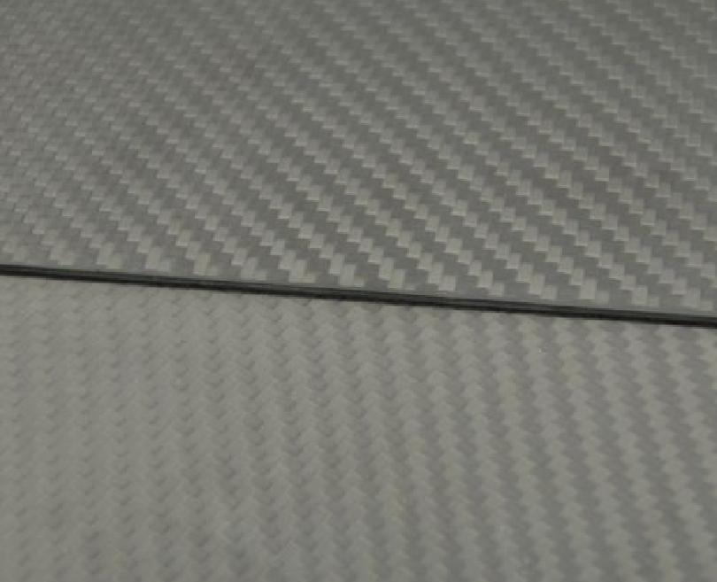 1pc 300mmX500mmX2.0mm Carbon Fiber Plate Panel Sheet 3K Plain Weave Matte