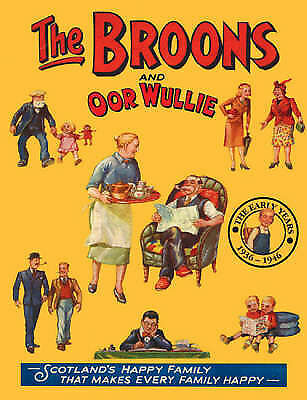 """""""AS NEW"""" Unknown, The """"Broons"""" and """"Oor Wullie"""": Early Years v. 11 (Annual), Har"""