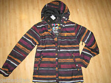 NEW* Billabong Ladies S Winter COAT JACKET Izara Ski Snowboarding $185 RV Black