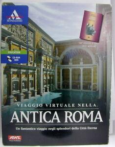 Virtual Journey through Ancient Rome CD w. Miti Romani