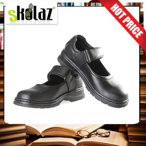 Skolaz School Shoes Girl  Leather Size 10 Free Backpack