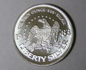 1983-A-Mark-Silver-Eagle-1-oz-999-Fine-Silver-Round-71118