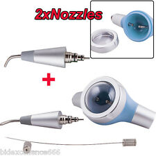 Dental Air Polisher 2 Nozzles Tooth Polishing Handpiece Hygiene Prophy Jet 2hole