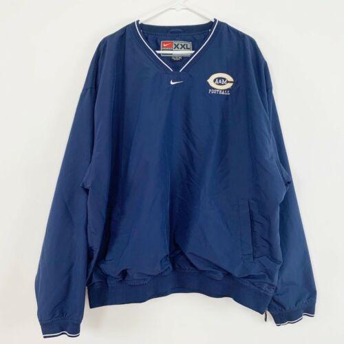 A & M Football Nike Mens Windbreaker Sweater XXL 2