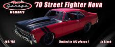 GMP ACME 1:18 1970 CHEVROLET NOVA TOMS GARAGE STREET FIGHTER 102 MADE