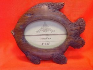 4-034-X-6-034-Oval-Wooden-Style-Resin-Fish-Frame