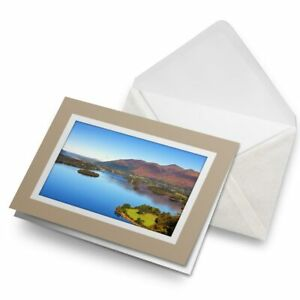 Greetings-Card-Biege-Derwentwater-Lake-Distric-England-16120
