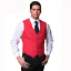 Gilet uomo classico elegante da barista barman cameriere sala ristoranti