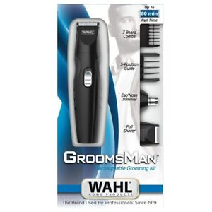 Wahl 9818 Lithium Ion Stainless Steel All-in-one Groomer Hair Trimmer Kit
