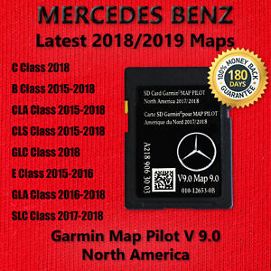 Details about 2018 2019 Mercedes-Benz SD Card GPS Navigation GLC E C-Class  Garmin Map Pilot