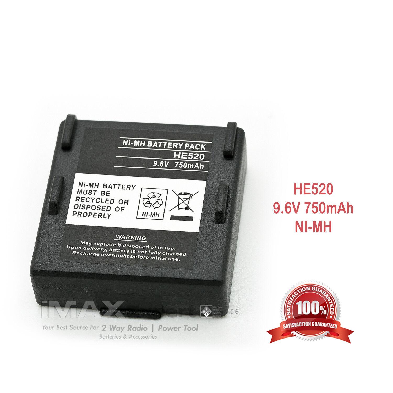 9.6V 750mAh Ni-Mh HETRONIC 68300520 HE520 Crane remote battery