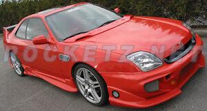 97-01 Prelude JDM Honda Access Style Hood Wing Spoiler SH SE BB6 USA ...