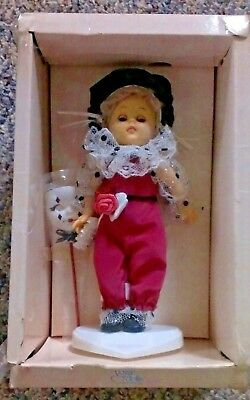 Vintage Vogue Ginny Doll Harlequin NRFB (clear box top missing)