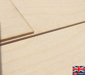 Birch Plywood sheets A4-Bigger for craft Pyrography,CNC 1.5mm FSC Laser