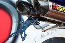 EVOTECH PORTATARGA RECLINABILE YAMAHA R1 2009-14 SCARICHI AKRAPOVIC TAIL TIDY
