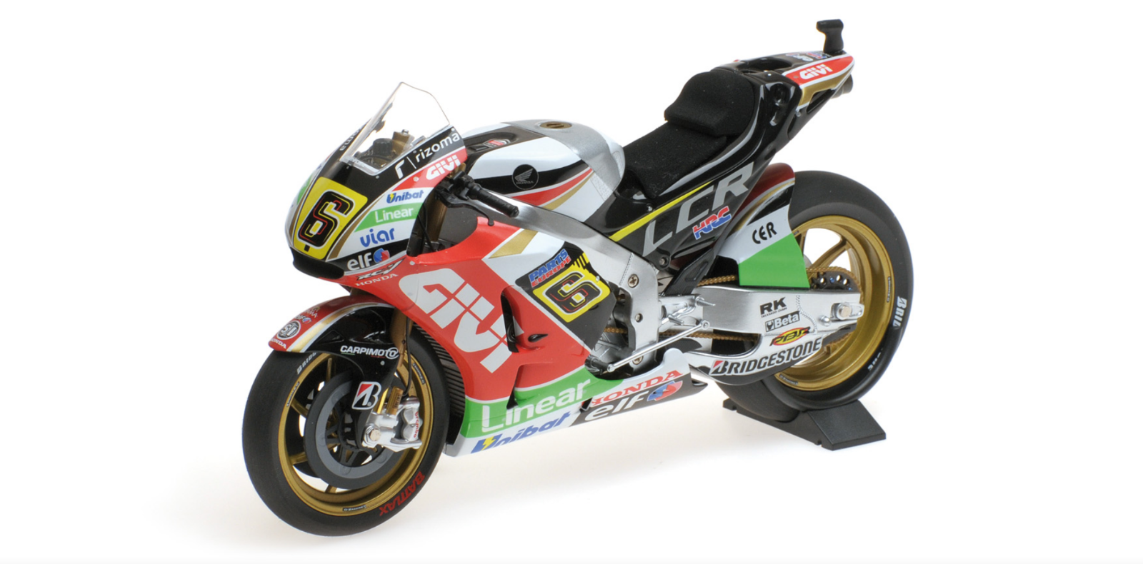 1 12 Honda RC213V Bradl MotoGP 2014 1 12 • Minichamps 122141106