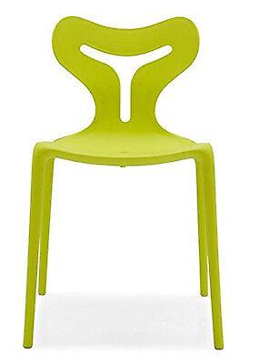 Sedie Calligaris Connubia Area 51 Set 4 sedie impilabili diversi colori CB1042 | eBay