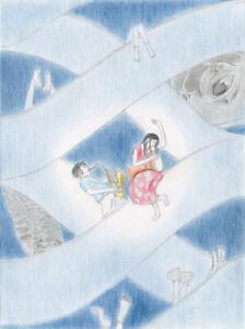 Home Decor for Children Archival Limited Giclée Print on Artist Cotton Paper