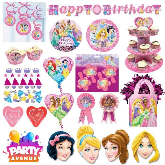 Disney Princess Party Vaisselle Décorations Ballons Faveurs