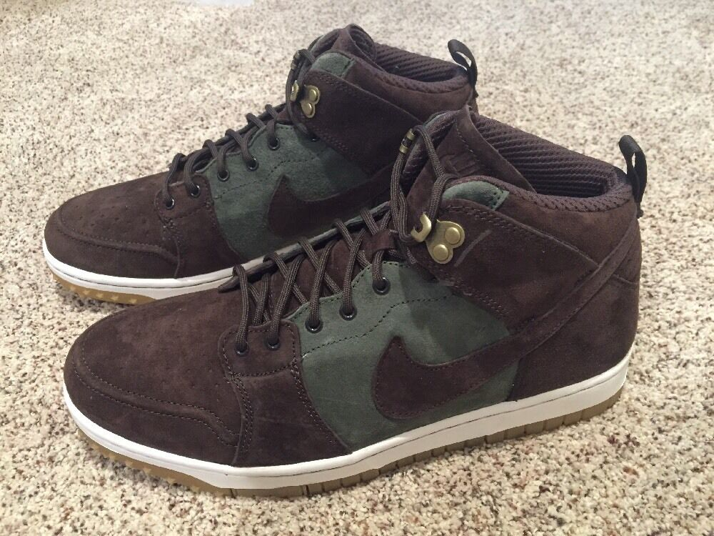 competitive price 6b2b7 cec7c Nike Dunk Comfort Sneakerboot Size 10.5 Brown 805995-300 CMFT Olive  nronbs490-new shoes