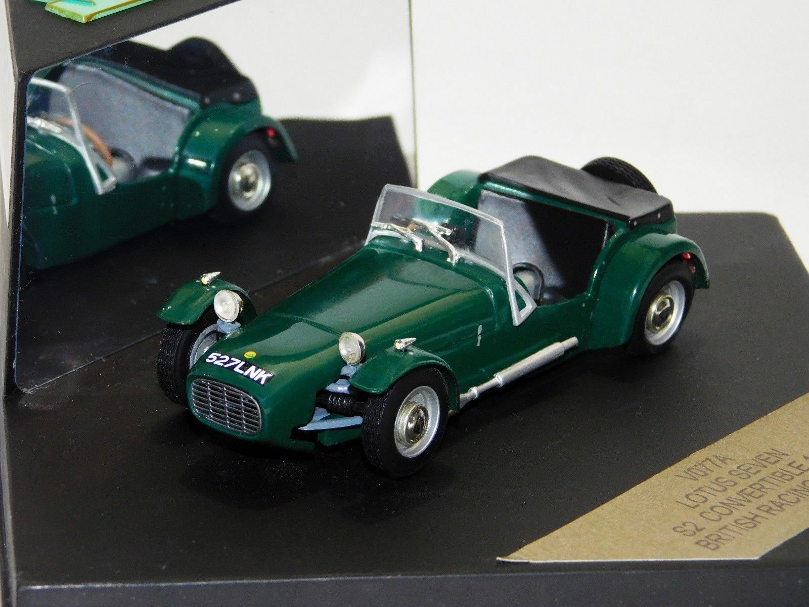 LOTUS SEVEN S2 CONgreenIBLE 1960 BRITISH RACING GREEN GREEN GREEN VITESSE V077A 1 43 91bd5f