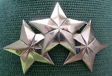 "Trucker "" Silver Star "" Belt Buckle by Mud Flap Girl Brand Originator - 3 Stars"