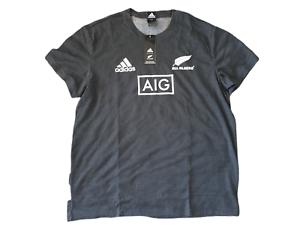 adidas New Zealand All Blacks Shirt Herren Größe XL -NEU- DN5992 Rugby