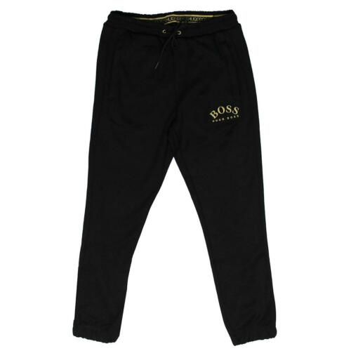 Hugo Boss Athleisure Men/'s Black Hadiko Win Joggers