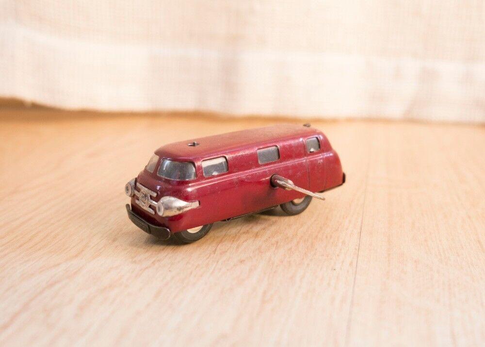 Schuco Varianto Bus 3044 a cuerda AÑOS 40 Made in US-Zone Germany coche juguete
