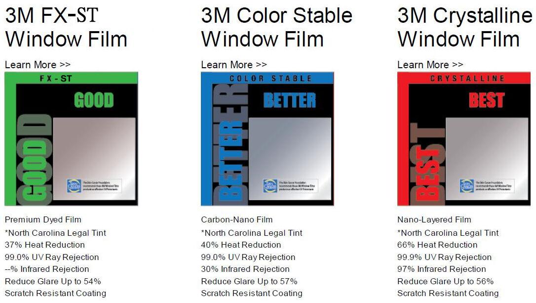 3M Window Film Crystalline 20/% VLT Automotive Solar Tint Multi Size CR20
