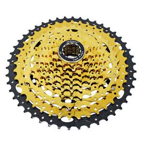VG Sports MTB Mountain Bike 10 Speed Cassette 50T Black Freewheel Sprocket Cogs