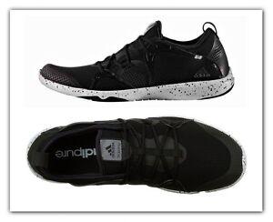 separation shoes 67779 439f1 Image is loading Women-Adidas-Adipure-360-4-Running-Shoes-Black-