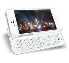 Sliding Wireless Bluetooth Keyboard Hard Shell Back Case Cover for iphone5 5G