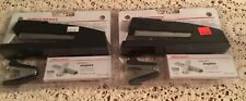 Lot Of 2 Office Depot Premium Full Strip Stapler Withstaples And Removerblack