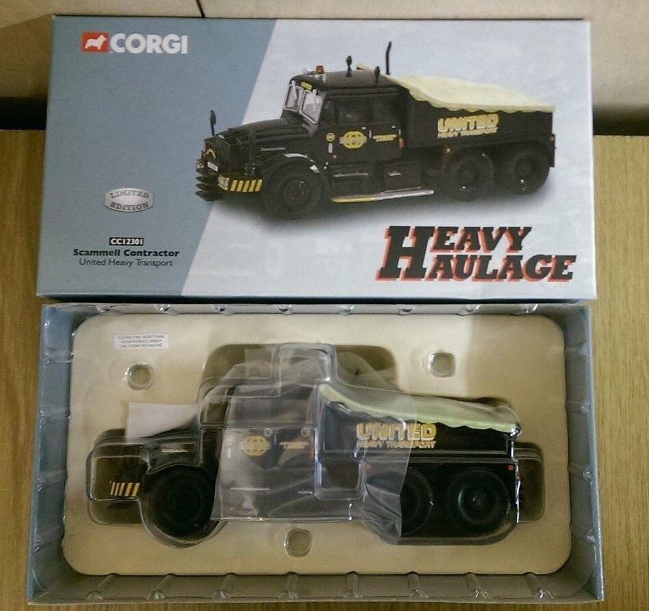Corgi CC12301 Scammell Contractor United Heavy Haulage Ltd Ed. No. 0002 of 5000