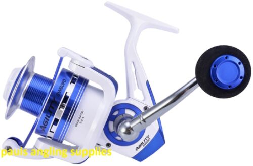 Shakespeare Agility 20 SW Large Spin  Fishing Reel Pier Surf Rock Spinning  1058