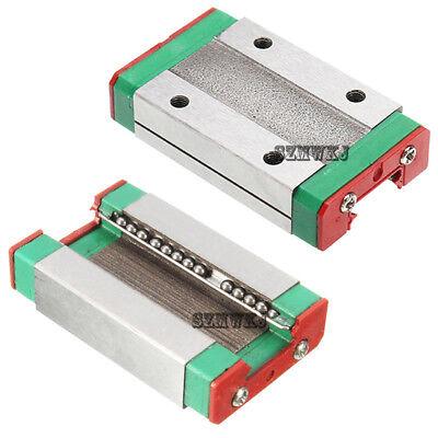 Steel MGN12H Liner Sliding Block 3D Printer For Rail Guide CNC Tool XYZ DIY New