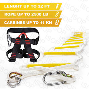 Fire-Emergency-Rope-Ladders-3-4-Story-Homes-10m-32-ft-Safety-Escape-Ladder