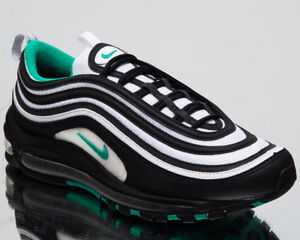 pretty nice 52249 3c0ac Details about Nike Air Max 97 Clear Emerald Men's Lifestyle Shoes Black  White 2018 921826-013