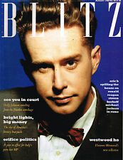 BLITZ #68 August 1988 HOLLY JOHNSON Ilona Cicciolina Staller MICHAEL JACKSON Exc