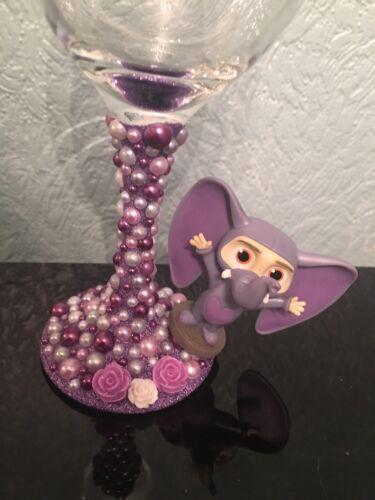 8d58ef783278 SALE!! DISNEY FIGURE Wine Glass - Finnick xx Zootropolis xx Elephant ...