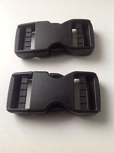 Black-No-Sew-Plastic-Dual-Adjust-Side-Release-Buckle-25mm-38mm-and-50mm