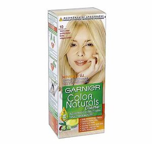 garnier color naturals 10 ultra light blonde color hair ebay