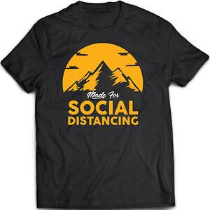 Gemacht-fuer-soziale-distanzieren-selbst-Isolierung-T-Shirt-s-5xl