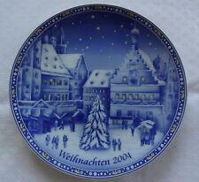 Weihnachts-Teller 2004 Wandteller Retsch Arzberg Porzellan Rothenburg ob Tauber