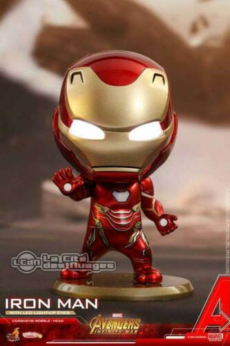 Hot Toys COSB430 Avengers Infinity War Iron Man with Light-up Function Cosbaby