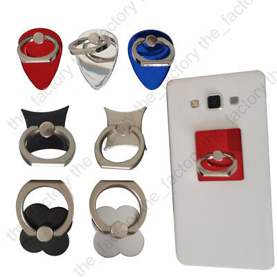 Rotation Finger Grip Ring Stent Holder Stand Mount For Universal Mobile Phone